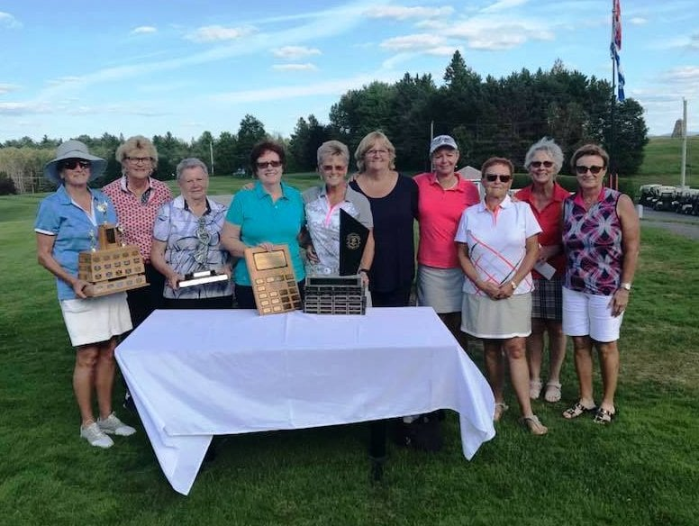 2018 Ladies Club Championship results
